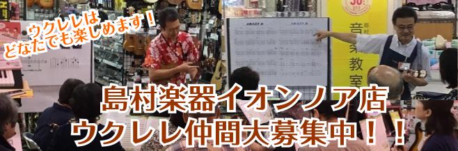 千葉県埼玉県でウクレレやってらっしゃる方はぜひウクレレサークルご参加ください